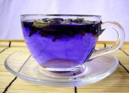 Тайский синий чай для похудения