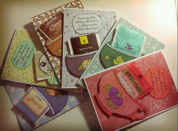 Подарки из чайных пакетиков своими руками 69